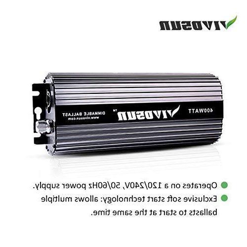 VIVOSUN HPS Grow Light Air - Easy up, Stability & Compatibility
