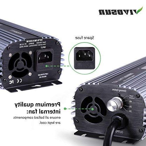 VIVOSUN HPS MH Air - Easy to up, Compatibility
