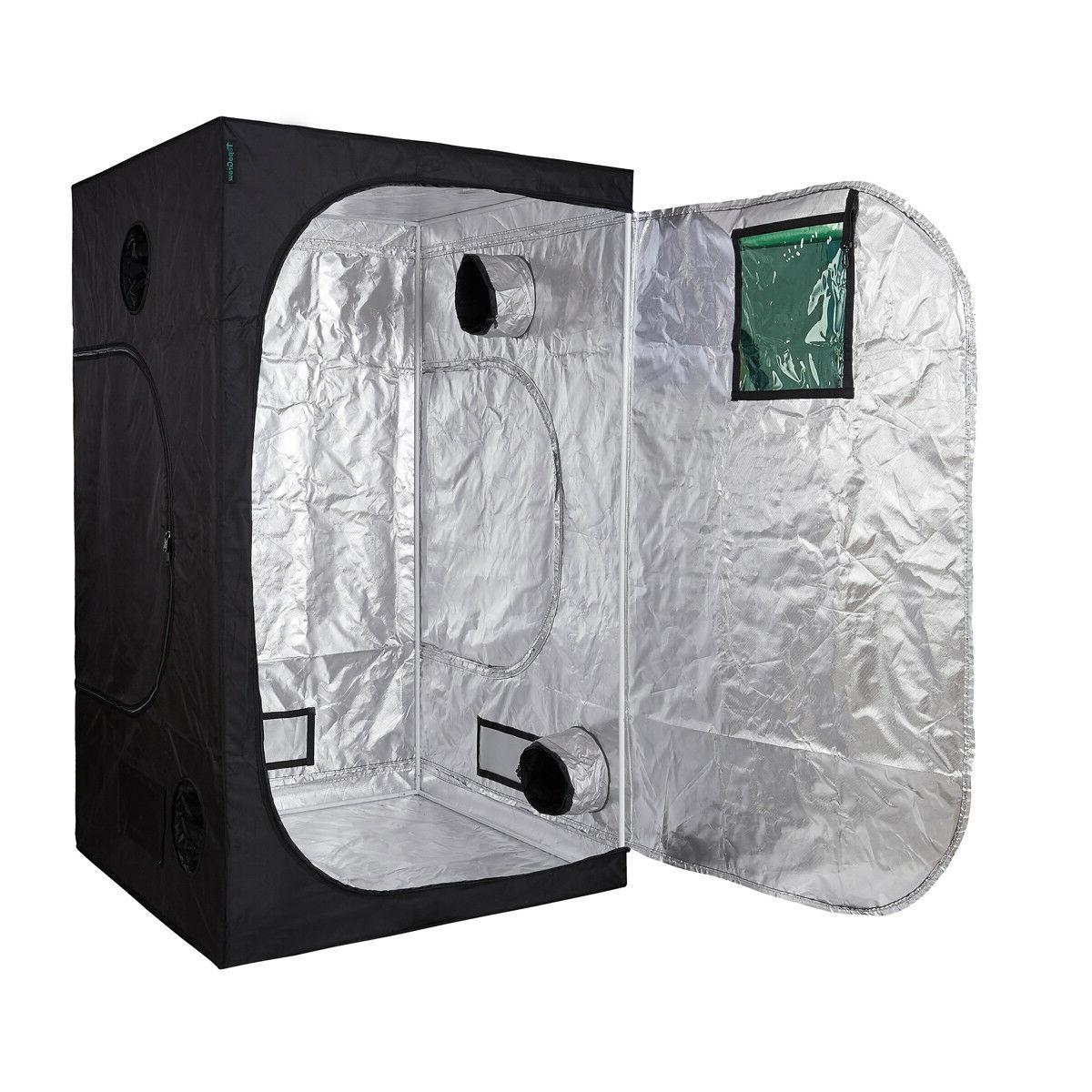 hydroponic grow tent refective 600d