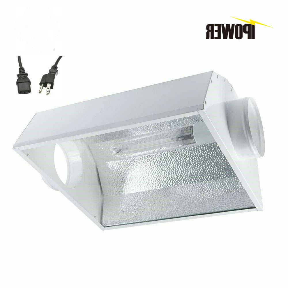 iPower 6 Inch Air Cooled Reflector Hood for HPS MH Grow Ligh