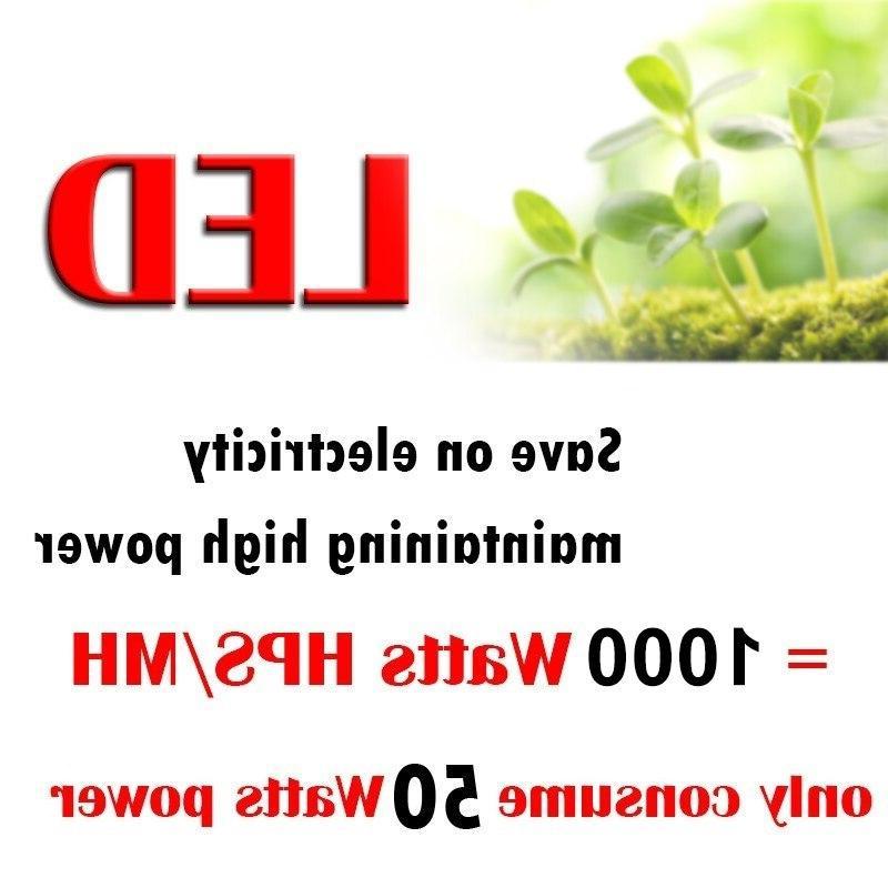 Indoor <font><b>Light</b></font> 1000W Lamp Plants Full Spectrum For <font><b>Grow</b></font> Tent Seedling