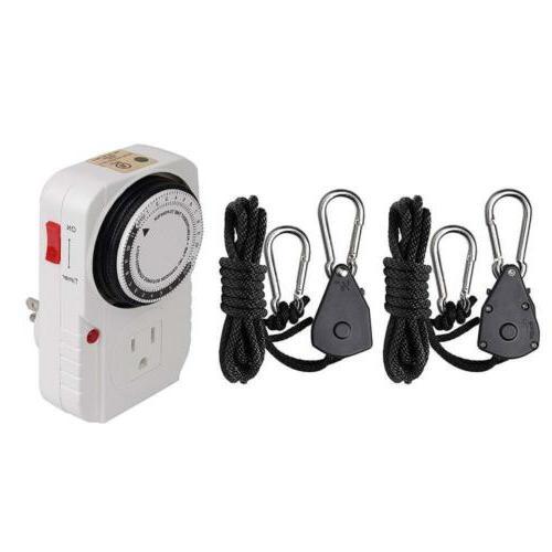Hydro Crunch K2-B6-R08-NL01 HPS Light System 8
