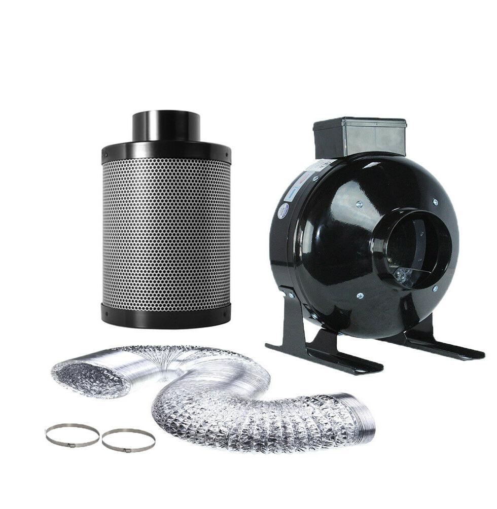 TopoGrow 300W Fan Filter Combo Kit