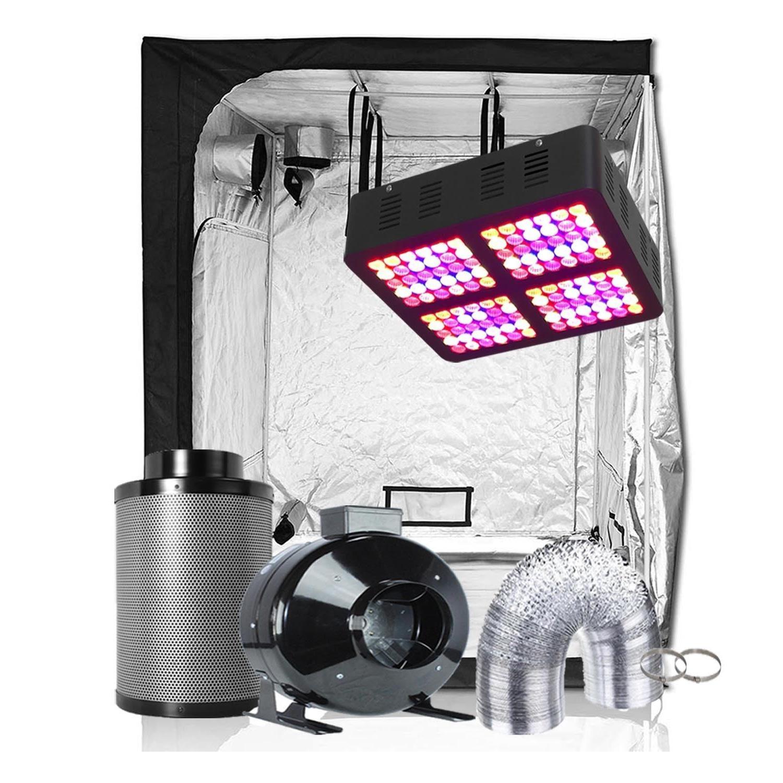 TopoGrow LED 600W Light Kit Grow Tent Kit