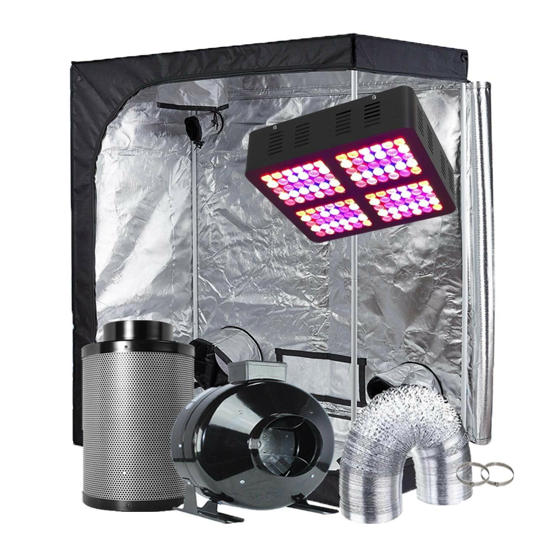 TopoGrow LED Light Kit Grow Tent Kit