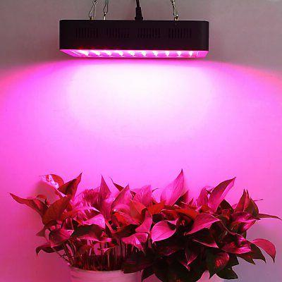 Lightimetunnel Led Grow Light, 300W Full Spectrum Plant Grow with