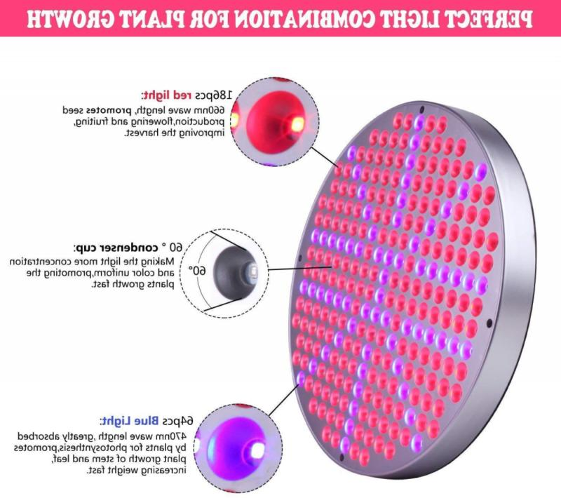 Led Grow 50W for Plants UFO 250 LEDs Full
