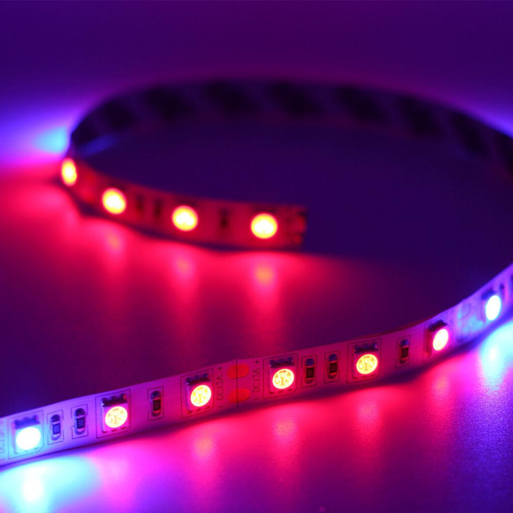 Full Spectrum LED Grow Light strip Lamp Red Hydroponic Greenhouse Plant