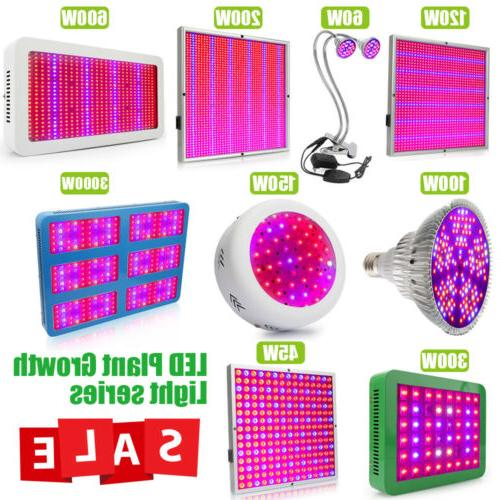led grow light full spectrum uv