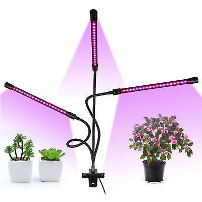 Grow Light Plant Light For Indoor Plants 3-Head Adjustable G