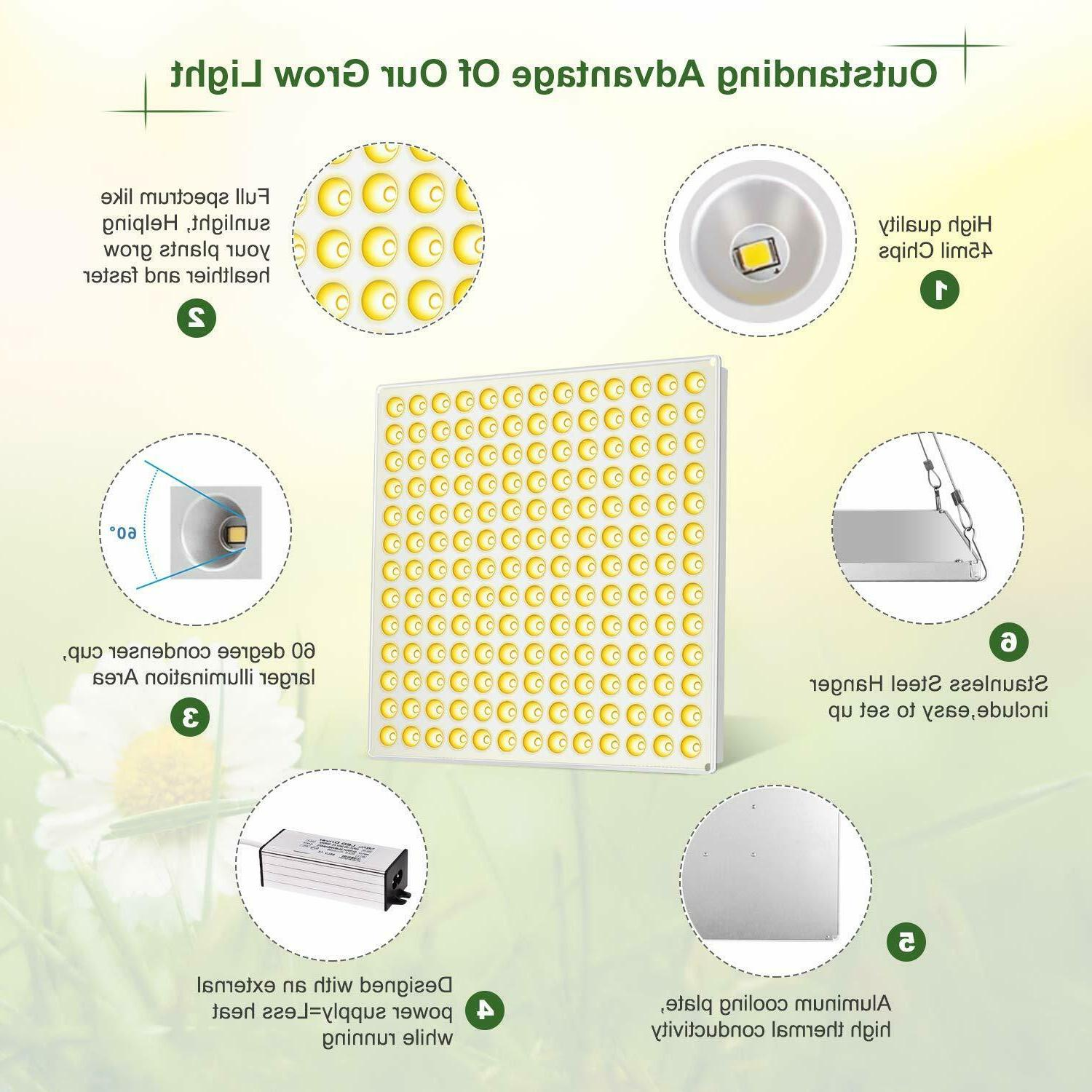 LED Grow Light 3500k S