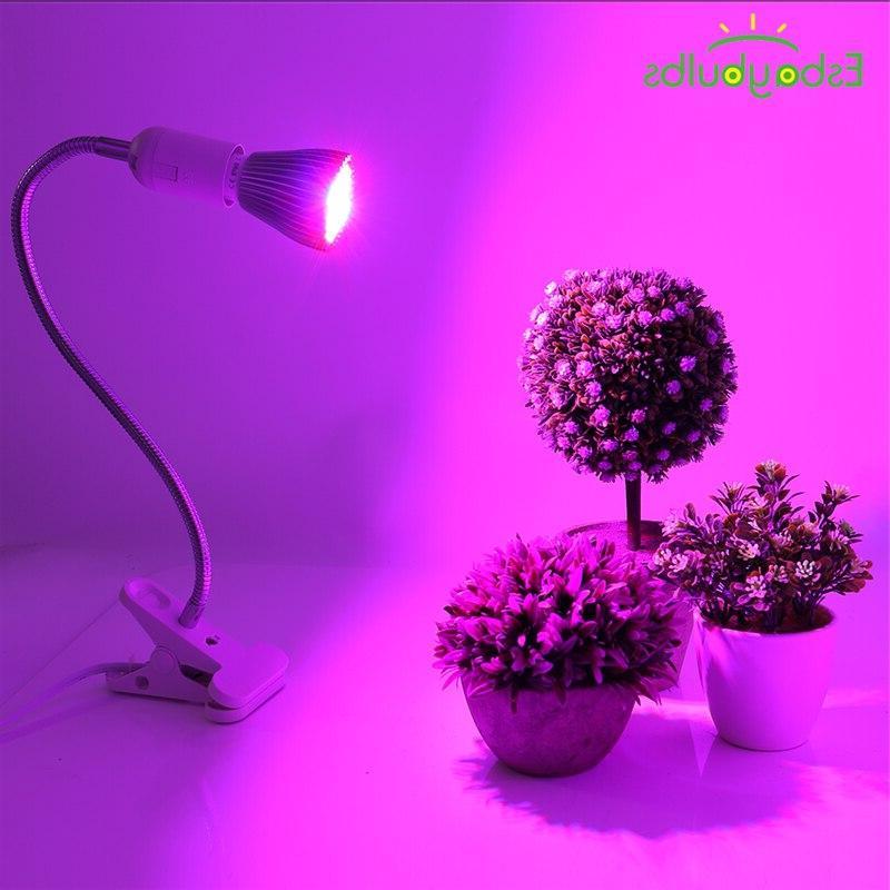 LED Plant <font><b>Grow</b></font> <font><b>Thermometer</b></font> Spectrum Double <font><b>Light</b></font> for Veg and Flower