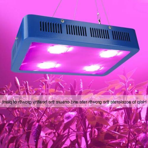 1200W COB LED Grow Light Full Spectrum for Greenhouse Indoor