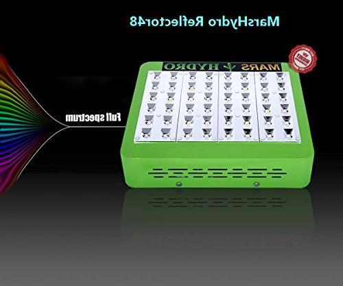 MarsHdyro Reflector48 Light 102W Veg Spectrum for
