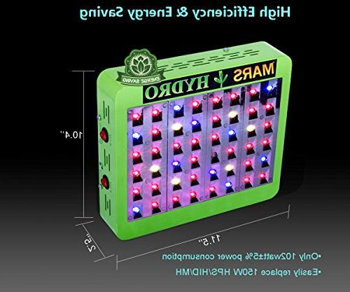 MarsHdyro Light Veg Flower Switchable Spectrum Indoor