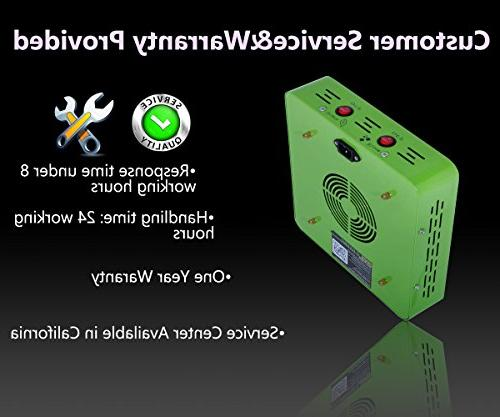 MarsHdyro Reflector48 Light 102W True Watt Veg and Switchable Spectrum