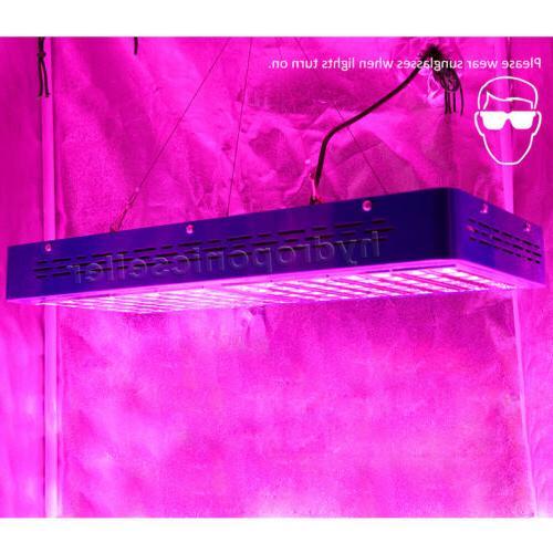 MEIZHI Grow Light Full Spectrum Hydroponics Veg Indoor