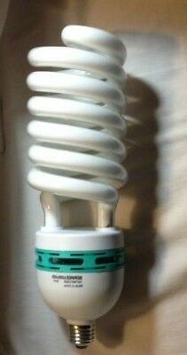 NEW GROW LIGHT BULB 105w spiral fluorescent 5000K Full Spect