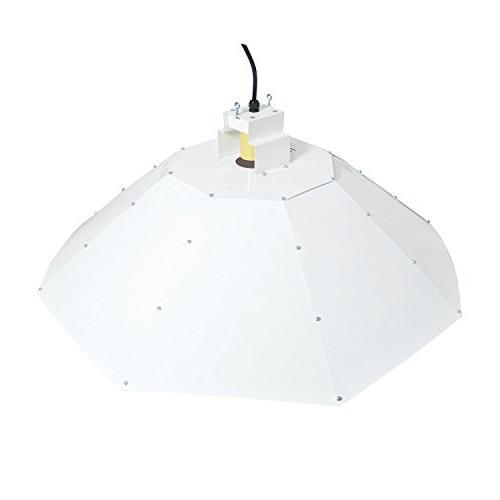 Hydro Crunch NPBK400WMHHPS Grow Hps Parabolic Vertical 400W, White
