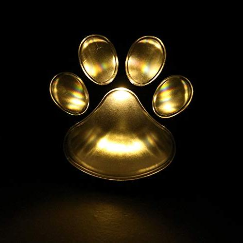 Finlon Paw Garden Lights of Lights Dog Pet Design Outdoor Lighting for Yard Pool Parties Ideas In Li