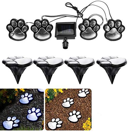 Finlon Paw Garden - of Powered Lights Puppy Pet Outdoor Landscape for Lawn Landscaping Yard Pool Parties by Ideas In Li