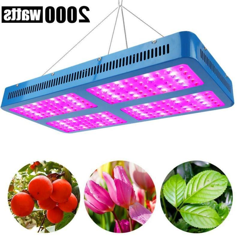 Plant Grow Light 2000W Double Chips Full Specturm, Derlights