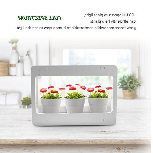 GrowLED Plant Grow LED Kitchen Garden Function, 24V Low Safe Voltage, Ideal for Grow Novice Or Various Plants, DIY White Grow