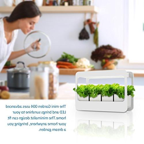 GrowLED Plant Light LED Indoor Garden Light, Function, Low Voltage, Ideal for Grow Novice Or Various Plants, White Grow