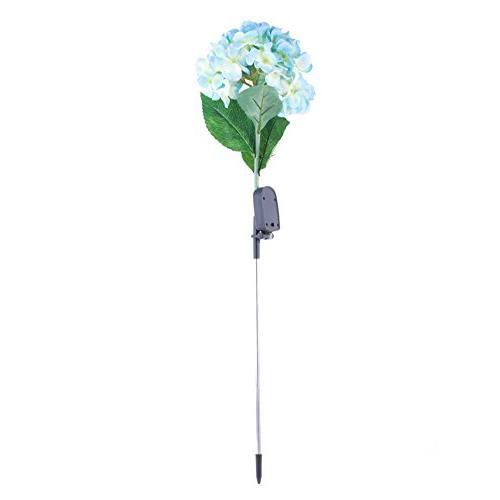 Solar Flower Solar Hydrangea LED Lamps Waterproof Yard