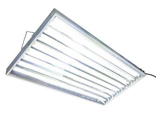 Hydroplanet T5 4ft 8lamp Fluorescent for T5