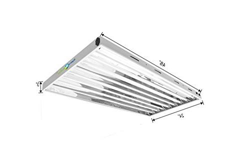 Hydroplanet T5 Fluorescent Ho Included for Horticulture T5 Grow Fixtures