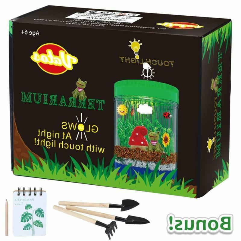 terrarium kit kids light up kits led