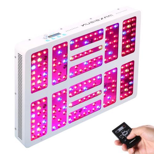 MAXSISUN Timer Control 1000W LED Grow Light Panel
