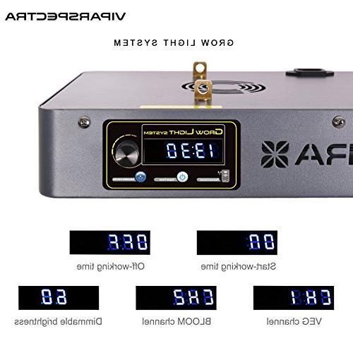VT450 LED Light - Channels 12-Band Full Spectrum for