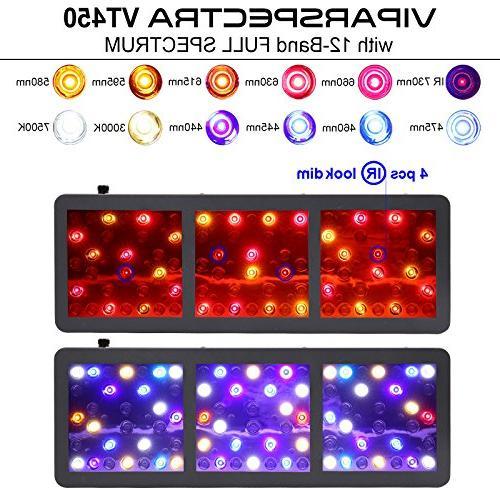 VT450 Light Veg/Bloom Channels Full Spectrum for