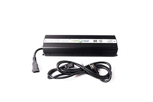 """Hydroplanet™ Double 8"""" XXL Cooled Hydroponic Grow Lights Kit DE Dimmable Digital LAMPS Horticulture Plant System Set¡"""