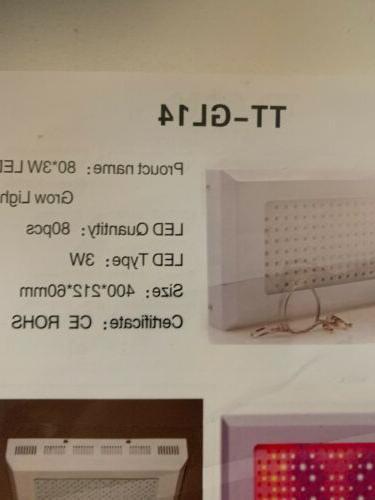 TaoTronics LED Grow Light New box