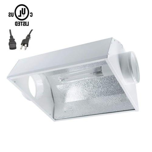 iPower Grow Light Kit Tube Wing Reflector Hood