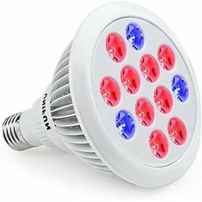 unifun led grow light e27 bulb greenhouse
