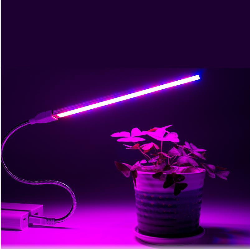 USB LED Full 3W 5W DC 5V Greenhouse Vegetable <font><b>Plant</b></font> Lighting Phyto <font><b>Lamp</b></font>