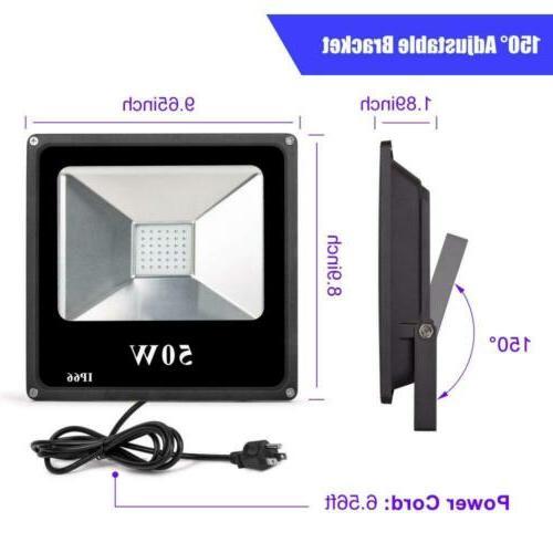 Roleadro UV Flood Floodlight Outdoor IP66...