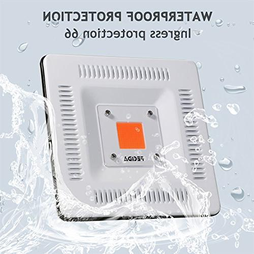 Waterproof IP67 50W Grow Light New Light, Natural Heat Without for and Hydroponics