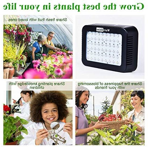 WattShine Grow – Lighting, Full Plant Light Grow UV&IR Lamp Greenhouse Grow LED for Vegetables