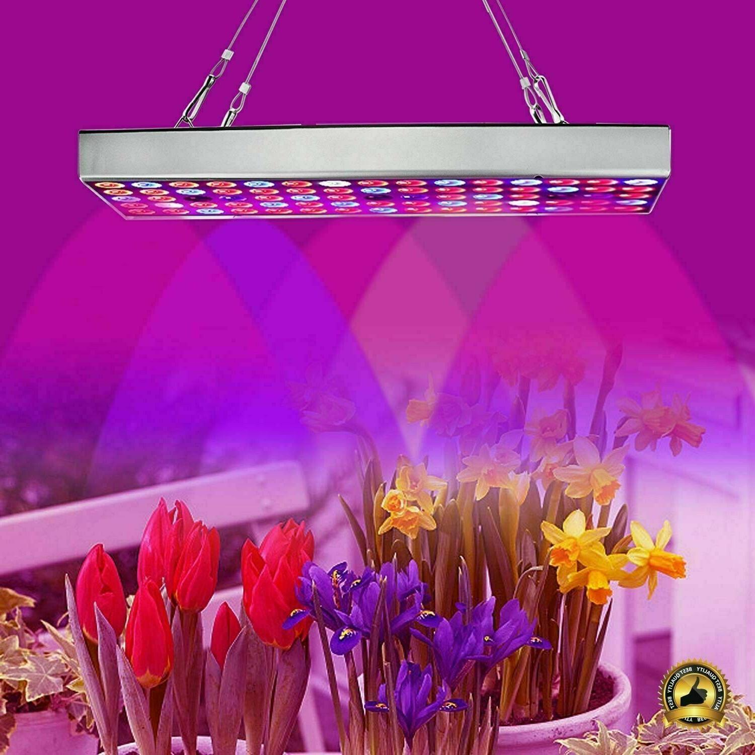 Weed Grow Light Full Spectrum LED Lights Marijuana Panel Can