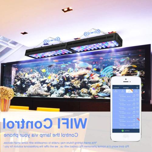 Lightimetunnel WiFi Light, Dimmable Fish Tank Ligh Full