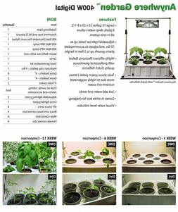 Tucker's Pride LAG4K Anywhere Garden Kit with Grow Light Sys
