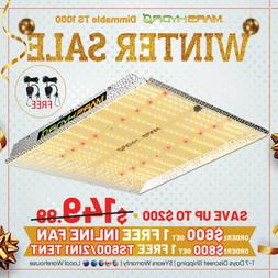 Mars Hydro TS 1000W LED Grow Light Full Spectrum for Indoor