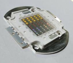 LED COB Grow Light 8 Band Full Spectrum UVB UVA Deep Red Fre