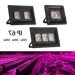 LED COB Plant Grow Light Waterproof 180° Rotate Indoor and