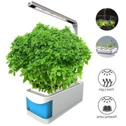 LED Desk Flower Plant Grow Light Indoor Hydroponics Gardenin